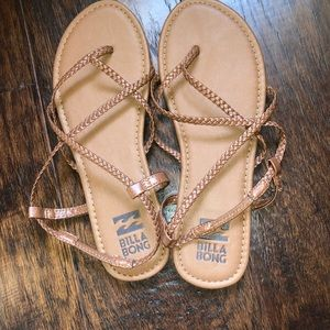 Brown Billabong Sandals